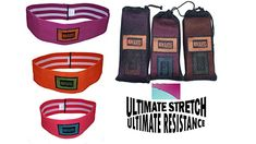 Workout Resistance Bands and jump rope For Exercise By Savvy Life 3 Pack