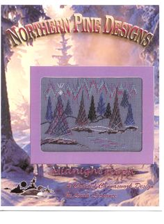 by Linda Lachance, Northern Pine Designs. www.northernpinedesigns.com using Kreinik threads