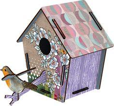 Cabane à Oiseaux Guestroom (moyen modèle) - Miho