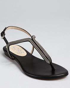 Kors Michael Kors Zanna flat sandal with chain link detail