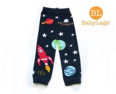 Legwarmers with glow in the dark