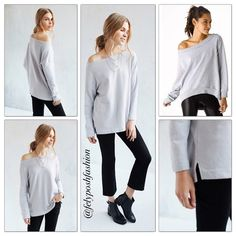 Truly Madly Deeply Jennie Off-The-Shoulder Urban Outfitters Truly Madly Deeply Jennie Off-The-Shoulder Sweatshirt- Grey M. Sweet + slouchy off-the-shoulder sweatshirt from Truly Madly Deeply. In a soft. Urban Outfitters Tops Sweatshirts & Hoodies