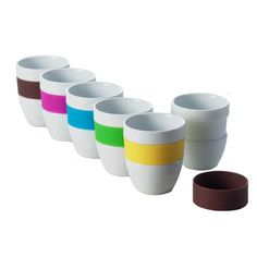 Coffee Cups 6Pk, £14.90, now featured on Fab.