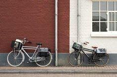 Basil transport fietstassen en fietsmanden, heel handig voor shopping of andere spullen. #basil #transport #fietsmand #fietstas