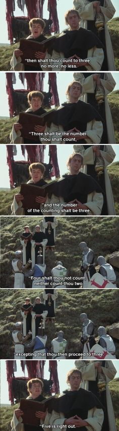 Monty Python and the Holy Grail. The best. Funny Movies, Good Movies, Movie Quotes, Funny Quotes, Einstein, Nostalgia, E Mc2, British Comedy, Monty Python