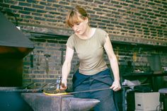 Blacksmith Agnes Jones is our kind of iron lady