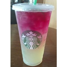 citrus berry passion refresher from starbucks∞