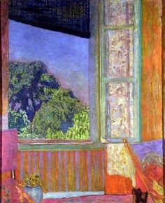 Pierre Bonnard, The Open Window, 1921, oil on canvas, The Phillips Collection, Washington, D.C.