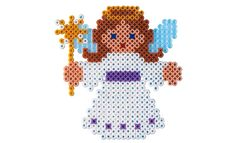 Perler Beads Christmas Angel Strijkkralen engel