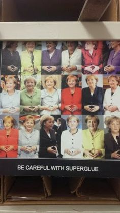 Be Careful with Superglue! #merkel