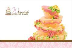 ~ Whimsical Wedding Cakes ~          custom cake designs