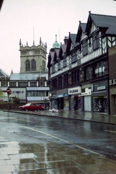 Market Place and the Parish Church Art Nouveau, Art Deco, Martin Parr, Childhood Days, Collage Ideas, Old Trafford, England Uk, Old Pictures, The Past