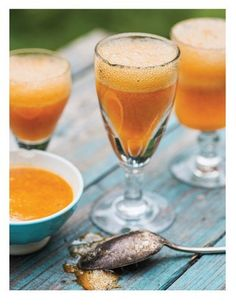 Apricot Rosemary Mimosa! Sweet Paul Magazine - Spring 2013 - Page 124-125