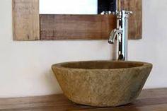 Resultado de imagen para lavamanos en piedra