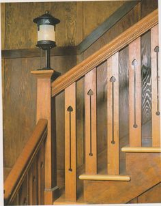 Arts And Crafts For Preschoolers Mission Furniture, Craftsman Furniture, Craftsman Interior, Craftsman Homes, Arts And Crafts Interiors, Arts And Crafts Furniture, Craftsman Style Bungalow, Craftsman Bungalows, Craftsman Staircase