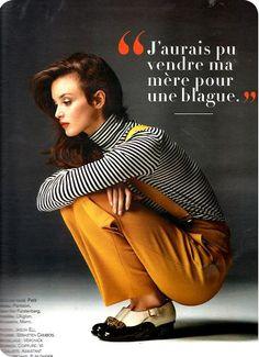 Glamour Septembre - Charlotte Le Bon