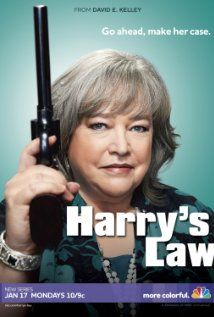 Harry's Law, I'm obsessed with Kathy Bates.