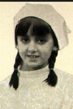 """Maria del Pilar """"Pilina"""". 10 year old Spanish girl who died of Hodgkin's disease."""