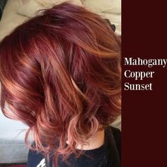 Mahogany copper sunset