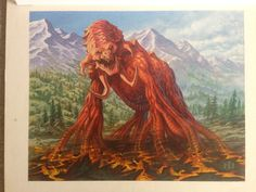 Magic Art of the Day - Petradon by Jim Nelson - Check out the owner's gallery here: