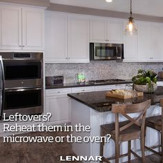 Where do YOU reheat your leftovers?