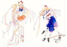 Sailor Moon Illustrazione: blog Naver