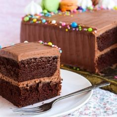 This Feed-a-Crowd Perfect Chocolate cake is it's ideal for your weekend entertaining. It