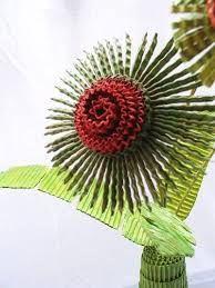 Resultado de imagen para flores en cartón corrugado