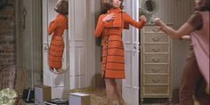 Strong women wear Mary Tyler Moore '70s style