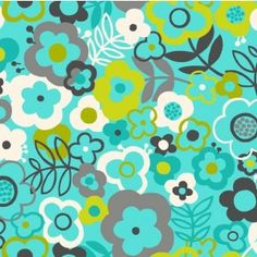 http://www.plushaddict.co.uk/all-fabric/quilting-weight-cottons/by-collection/makower-ilme-twist/makower-lime-twist-large-floral-turquoise.html Makower - Lime Twist - Large Floral Turquoise