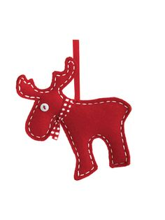 Moose Ornaments (Set of 2)  Home #HomeAccessories