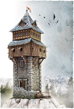 Tabletop World:  Specializing in miniature buildings and tabletop dressing for you RPG needs.