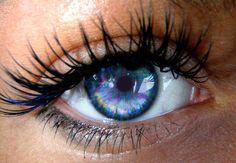 lashes &* beautiful blue eyes.. <3...WISH I HAD THOSE EYES