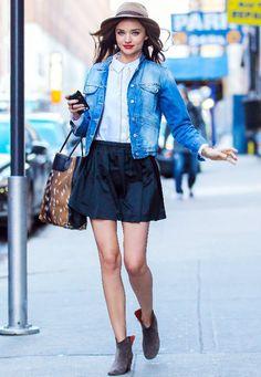 shirt and skirt combo