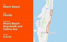 Strava Shares Popular Running Routes In Popular Spring Break Destinations Running Magazine, Spring Break Destinations, Beach Boardwalk, Training Plan, Running Workouts, Running Women, Miami Beach, Popular, How To Plan