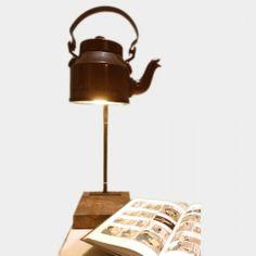 Funky Tea Light Table Lamp http://www.tadpolestore.com/artfeat-designs  #Indian #india #designer #lamps #home décor #Artfeat designs #gifts