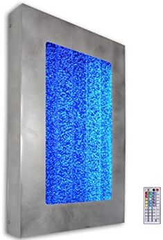 "Amazon.com: 30"" Bubble Wall Hanging Aquarium LED Lighting Indoor Panel Water Fall Feature Fountain: Home & Kitchen Aquarium Led, Led Aquarium Lighting, Bubble Wall, New Environment, Fountain, Waterfall, Bubbles, Indoor, Amazon"