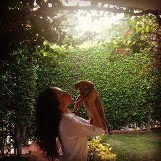 """3,892 """"Μου αρέσει!"""", 38 σχόλια - Meghan Markle (@meghanmarkle) στο Instagram: """"You were right @TheEllenShow ! You told me to adopt this sweet pup yesterday, and I'm so happy I…"""""""