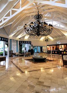 Lobby of Gran Ventana Beach Resort, Playa Dorada, Dominican Republic
