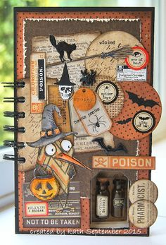 Kath's Blog......diary of the everyday life of a crafter - Halloween Journal