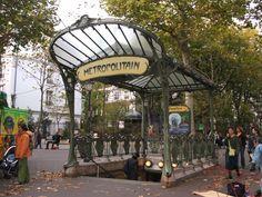 Art Nouveau - Métro parisien
