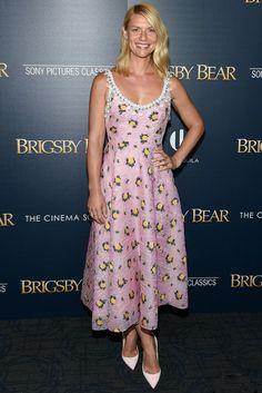 Клэр Дейнс в Prada на премьере фильма «Медведь Бригсби» в Нью-Йорке