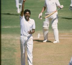 The greatest all-rounder in Indian cricket Kapil Dev competed with fellow Laurus World Sports Academy Member Ian Botham, Imran Khan and Richard Hadlee for the kudos of being best all-rounder in the world during the 1980s. By the time he retired from the Test arena in 1994, Kapil had made 5,248 runs at an average of 31.05 and had created a world record, at that time, of 434 Test wickets at 29.64.