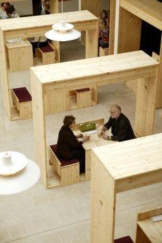 Unique Minimalist Cafe Interior Design Ideas - Architecture News, Homes Design, Interiors on Yupiu Cafe Interior Design, Cafe Design, Interior Architecture, Interior Ideas, Design Design, Café Interior, Architecture Diagrams, Brown Interior, Design Ideas