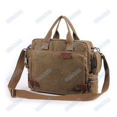 4 colors canvas computer bag canvas messenger bags by shaode, $35.00