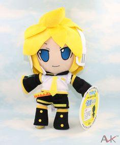 Kagamine Len/Rin Vocaloid Plush