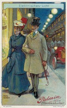 Illuminazione elettrica, 1905