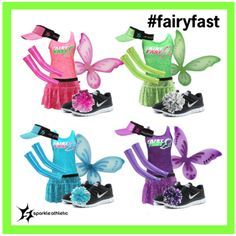 Fairy Fast Running Costume - Sparkle Athletic - Fairy Fast Running Costumes – complete with Sparkle Athletic skirts, tanks, sleeves, wings, visor - Run Disney Costumes, Running Costumes, Disney Cosplay, Halloween Costumes, Disney Princess Half Marathon, Disney Marathon, Princess Running Costume, Running Princess, Disney Running Outfits