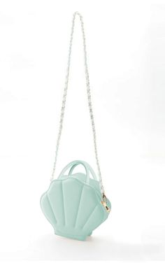 Mermaid Whimsy Sea Shell Purse in Mint Green | Sincerely Sweet Boutique