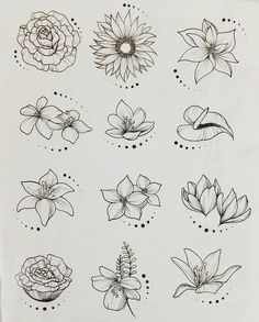 44 Ideas flowers drawing tattoo sketches inspiration for 2019 drawing tattoo flowers is part of Flower sketches - Tattoo Sketches, Drawing Sketches, Tattoo Drawings, Art Drawings, Drawing Art, Drawing Ideas, Drawing Tutorials, Sketching, Sketch Inspiration
